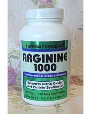 Jarrow Formulas, Arginine 1000