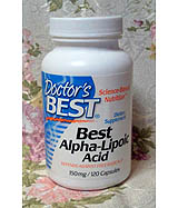 Doctor's Best, Best Alpha Lipoic Acid