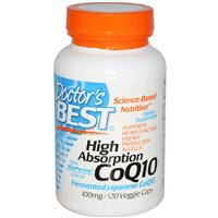 Doctor's Best, High Absorption CoQ10 with BioPerine