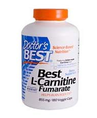 Doctor's Best, Best L-Carnitine Fumarate