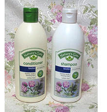 Nature's Gate, Biotin Strengthening Shampoo&Conditioner