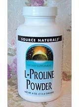 Source Naturals, L-Proline Powder
